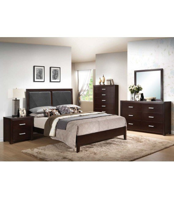 Best 4 Pc Queen Size Bedroom Set By Ajay Collection Us Furniture Discount Inc With Pictures