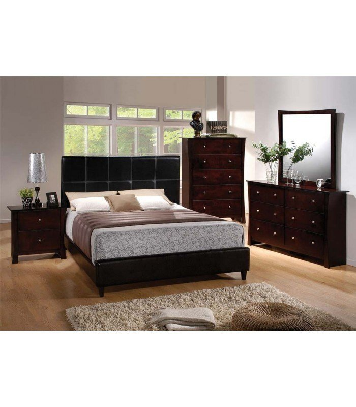 Best 4 Pc Queen Size Bedroom Set By Ridge Collection Us With Pictures