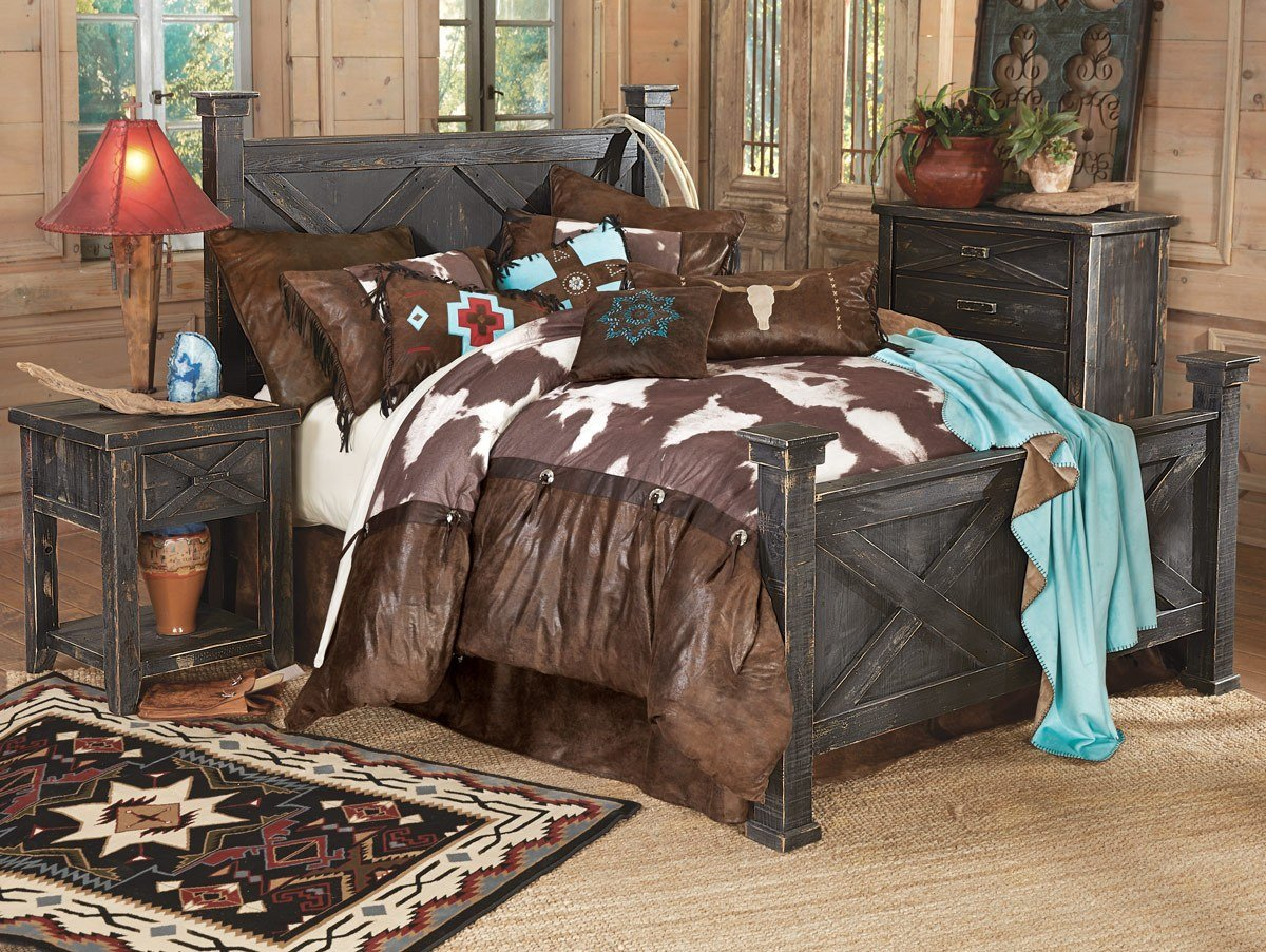 Best Barnwood Double X Bedroom Collection With Pictures