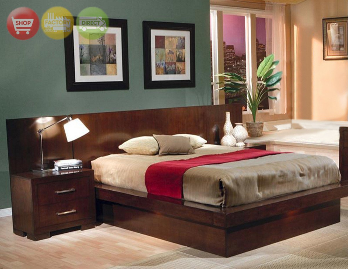 Best Jessica California King Platform Bed Modern Bedroom With Pictures