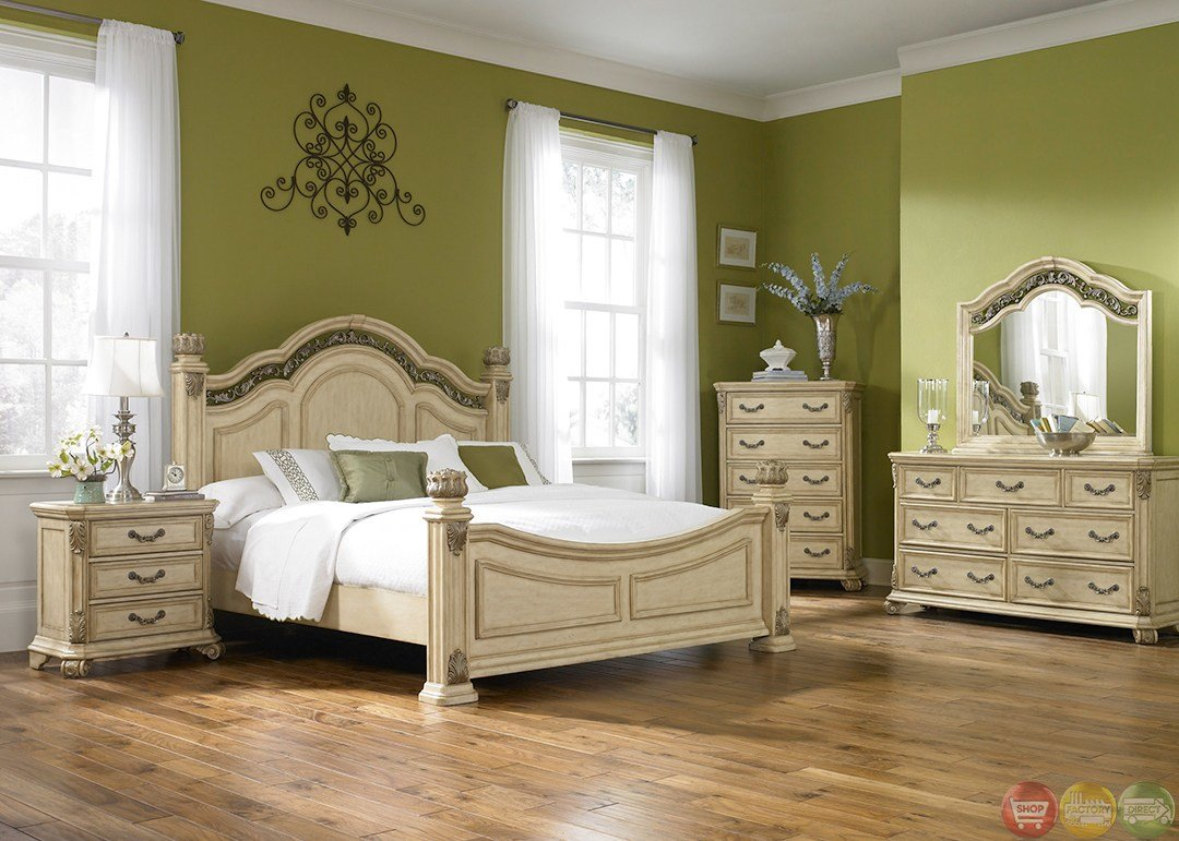 Best Messina Estates Ii Whitewash Finish Poster Bedroom Set With Pictures