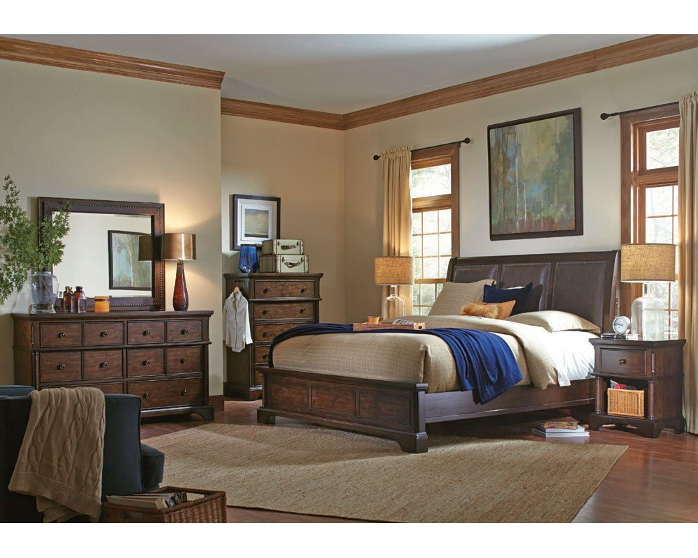 Best Aspenhome Bedroom Set Bancroft Asi08 422Set With Pictures