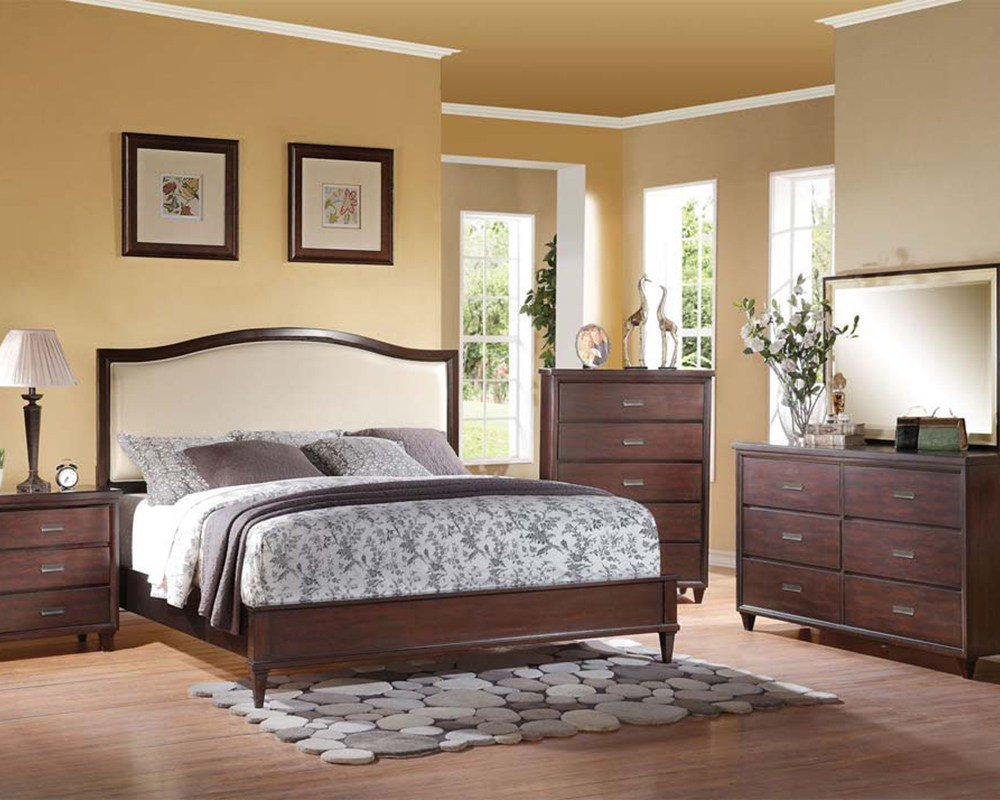 Best Bedroom Set In Rich Cherry Raleigh By Acme Furniture With Pictures