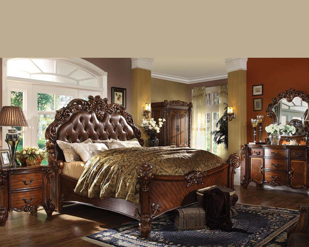 Best Bedroom Set Vendome Cherry By Acme Furniture Ac22000Set With Pictures