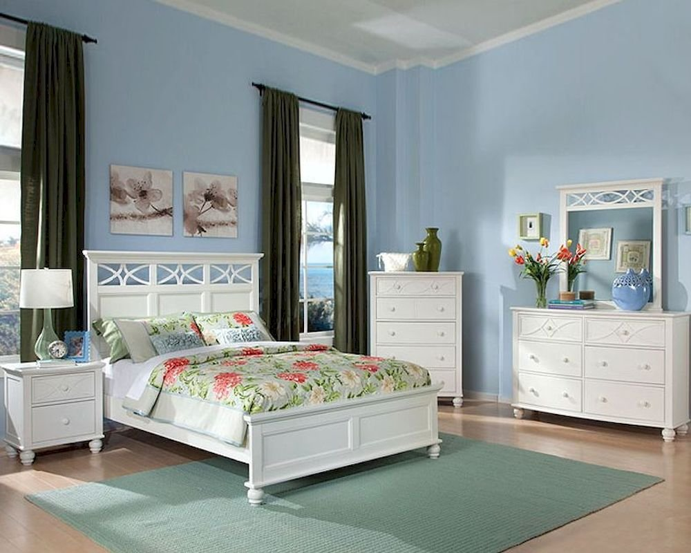 Best Homelegance Bedroom Set Sanibel In White El2119Wset With Pictures