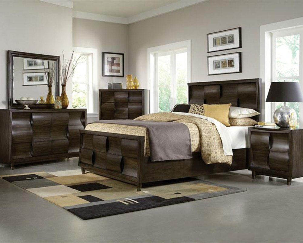 Best Modern Bedroom Set Noma By Magnussen Mg B2640 54Set With Pictures