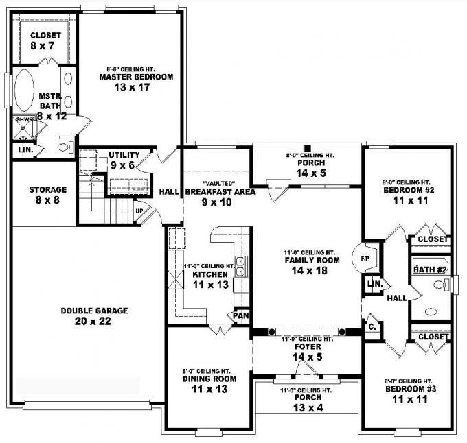 Best House Floor Plans 3 Bedroom 2 Bath 3 Story Tiny House With Pictures