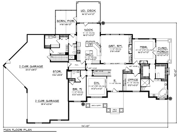 Best 4 Bedroom Ranch House Floor Plans 4 Bedroom House Floor With Pictures