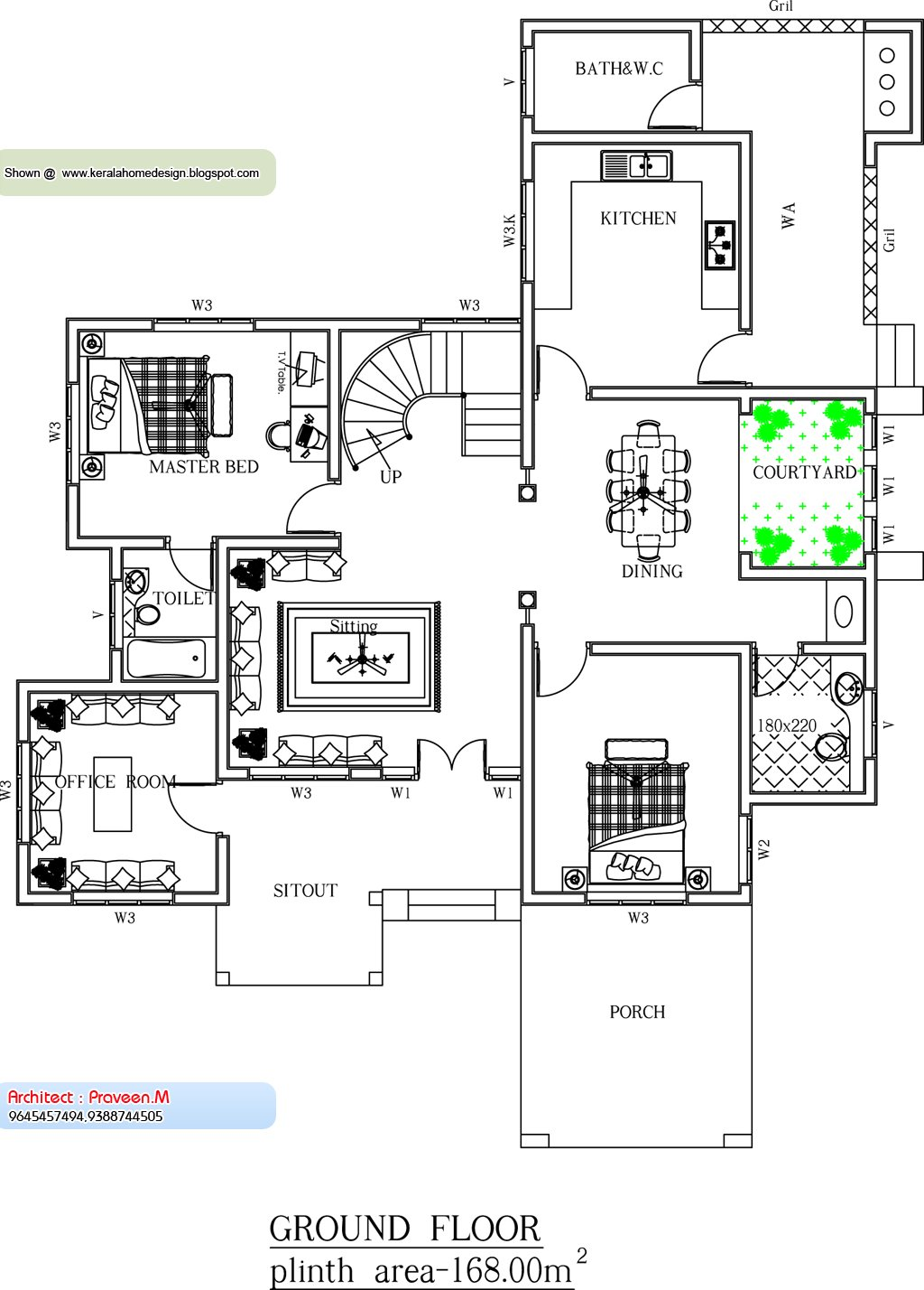 Best House Plans Kerala Home Design 2 Bedroom House Plans With Pictures