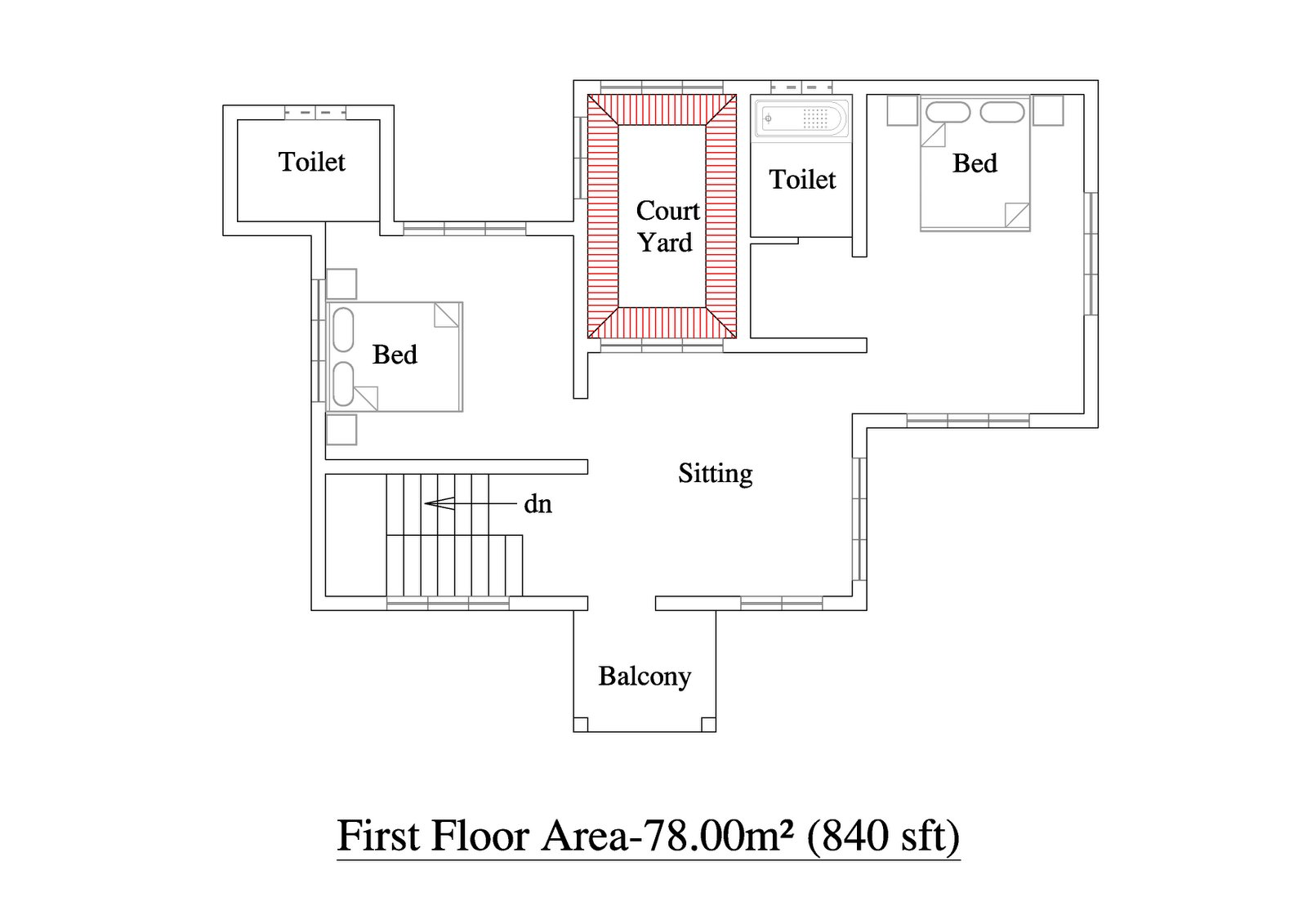 Best 2 Bedroom Cottage House Plans 2 Bedroom House Plans Kerala With Pictures