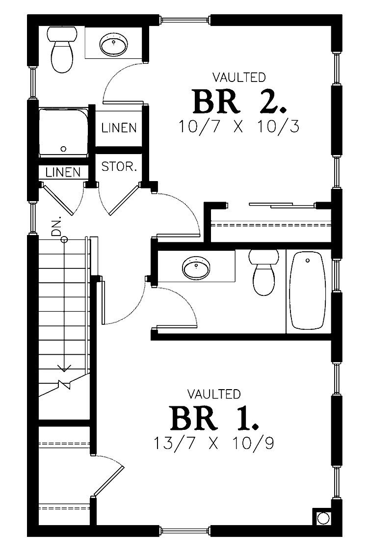 Best 2 Bedroom House Simple Plan 2 Bedroom House Plans Two With Pictures
