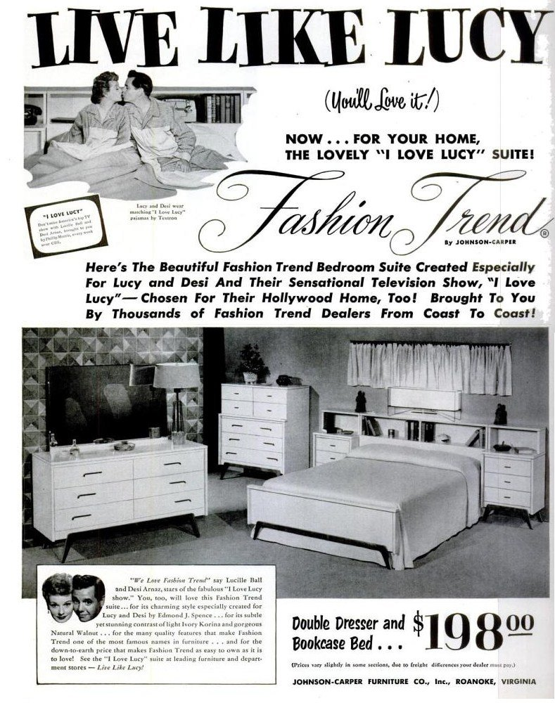 Best File I Love Lucy Bedroom Set 1953 Jpg With Pictures