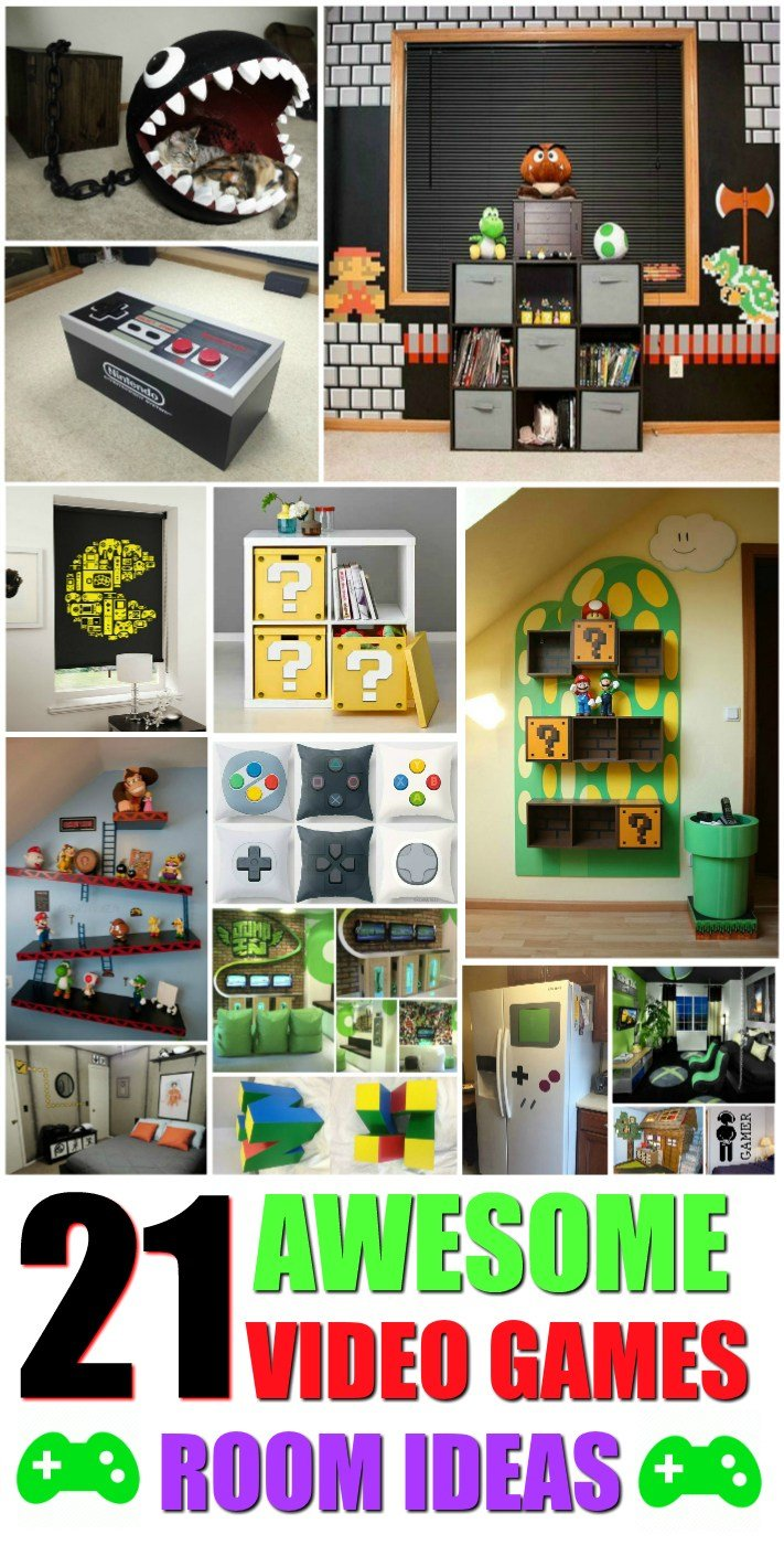 Best 21 Truly Awesome Video Game Room Ideas U Me And The Kids With Pictures