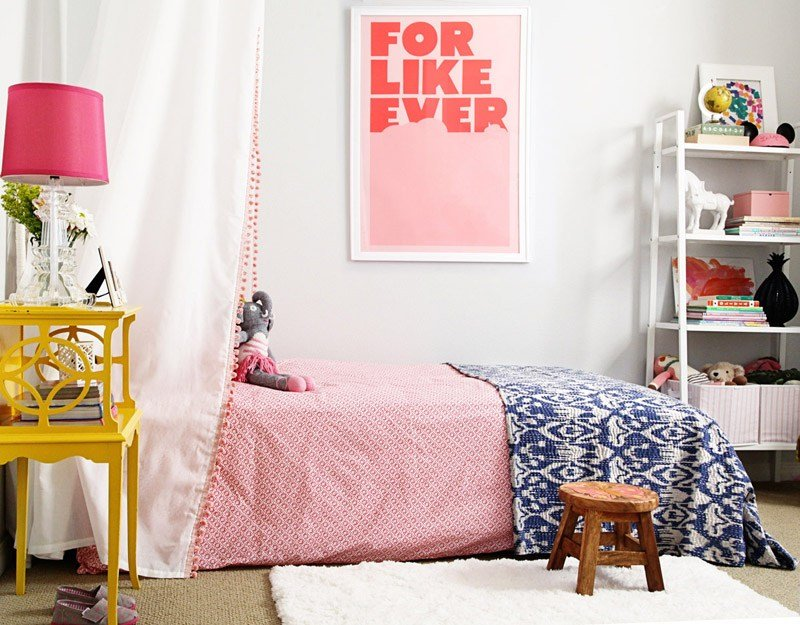 Best L S Big Girl Room Reveal Cute Bohemian Erika Brechtel With Pictures