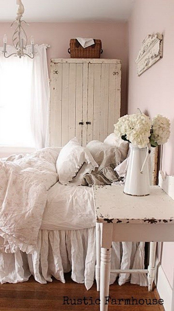 Best 30 Cool Shabby Chic Bedroom Decorating Ideas For Creative Juice With Pictures