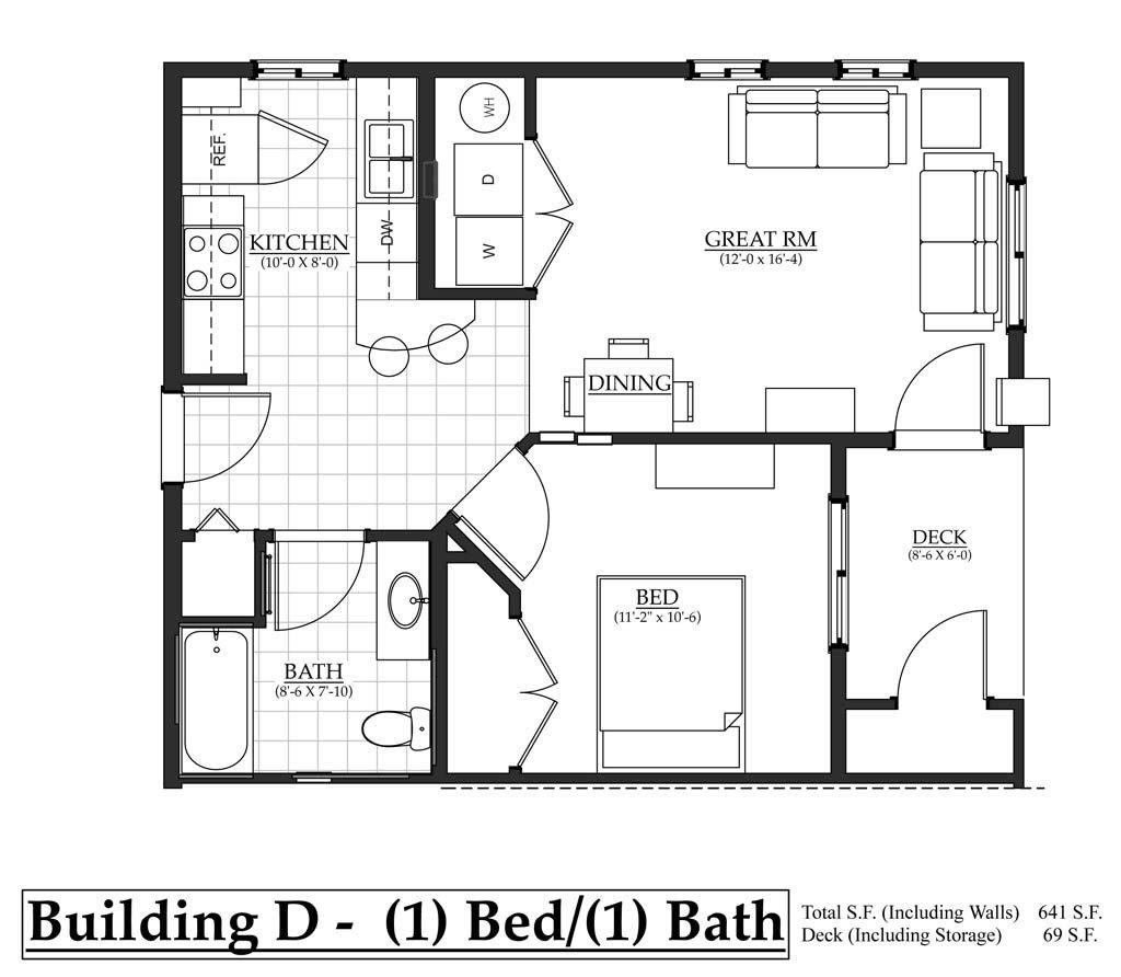 Best Building D 1 Bedroom The Flats At Terre View With Pictures