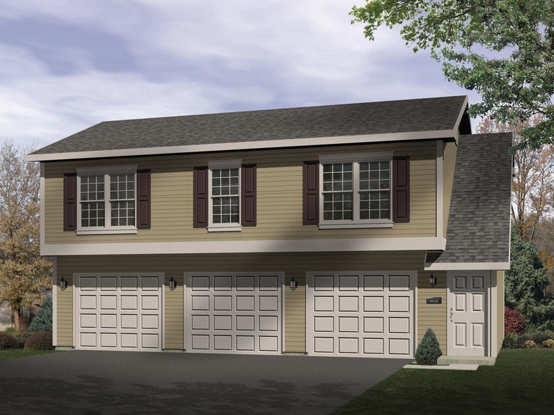 Best Sidney Large Apartment Garage Plan 058D 0137 House Plans With Pictures