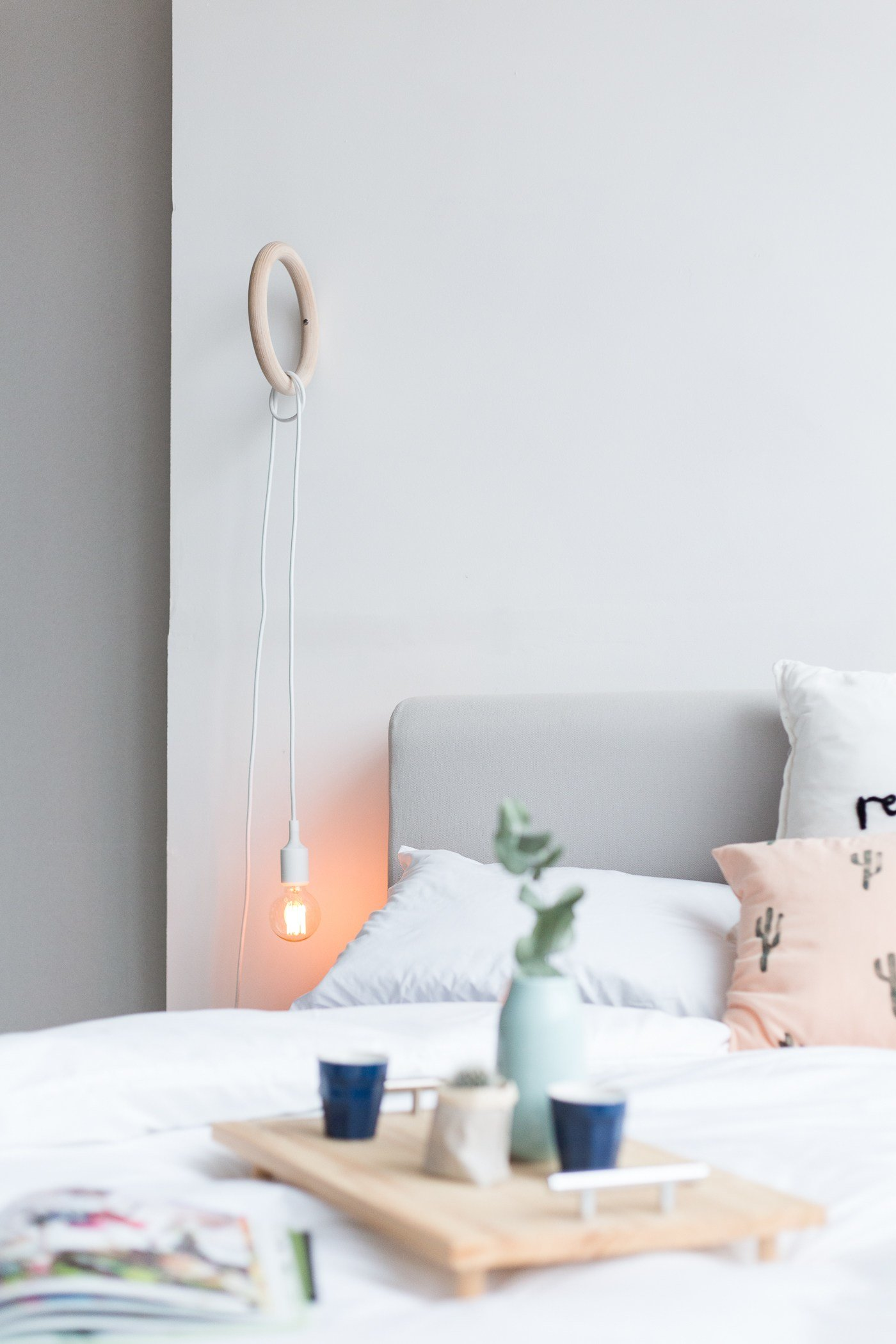 Best Brighten Up Bedroom Decor With A Diy Gym Ring Hanging With Pictures