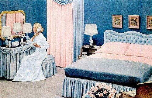 Best Early '50S Bedrooms 1950 55 Mid Century Living With Pictures
