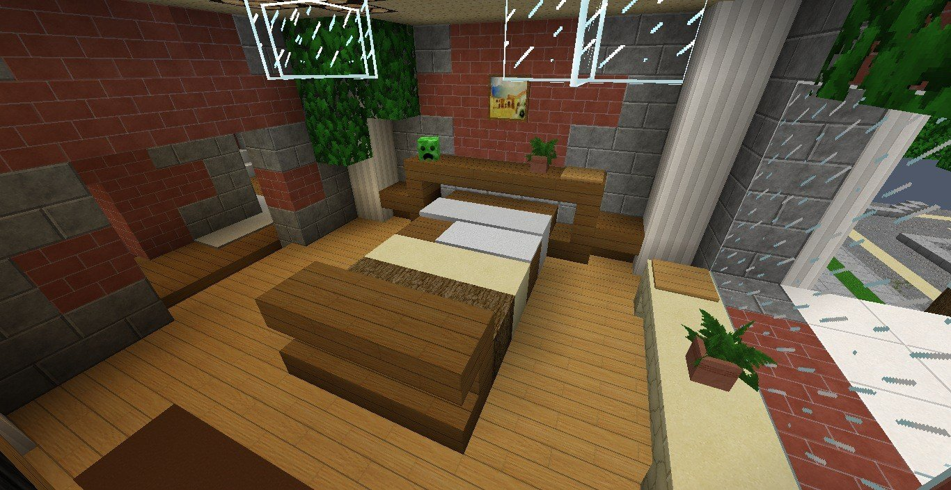 Best Minecraft Furniture Bedroom With Pictures