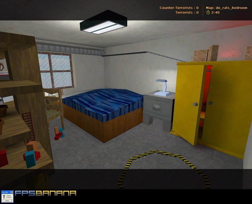 Best De Rats Bedroom Counter Strike 1 6 Maps Rats Type With Pictures