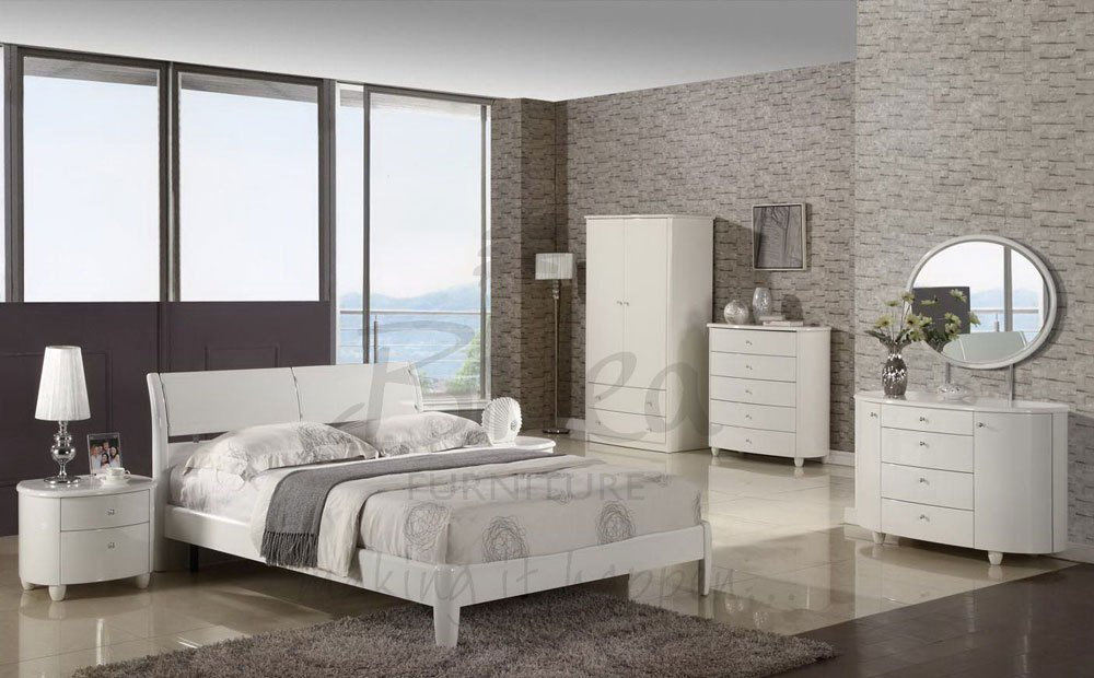 Best Harmony White High Gloss Bedroom Furniture Range Only £139 With Pictures