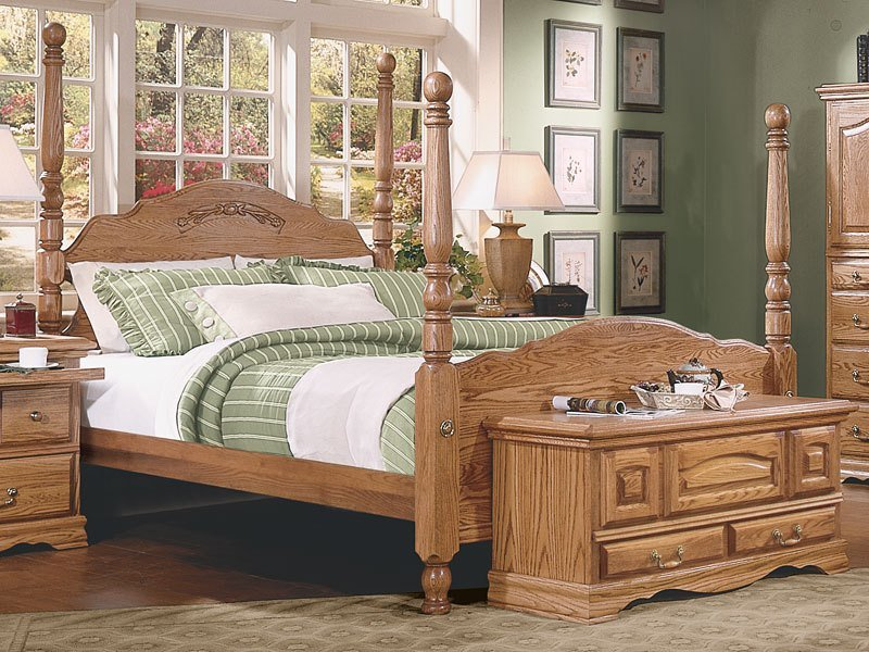 Best Bedroom Furniture Master Piece 4 Poster American Made With Pictures