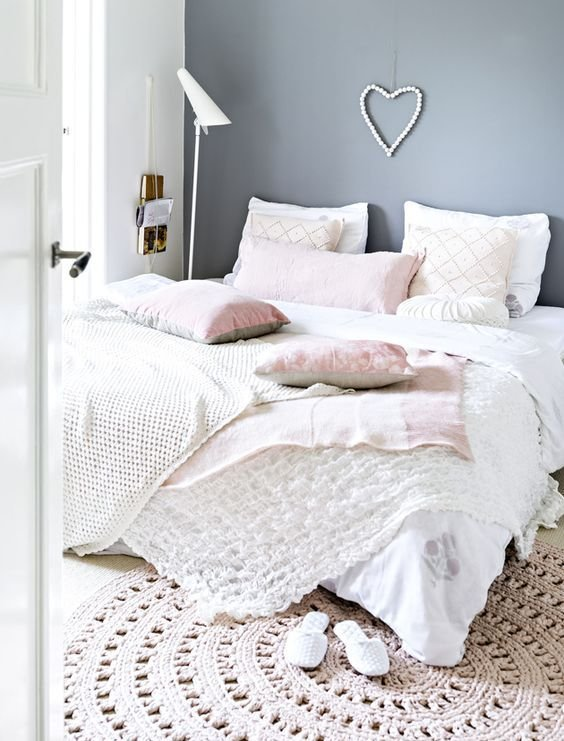 Best 9 Gorgeous White Grey And Pink Interiors That Make You With Pictures