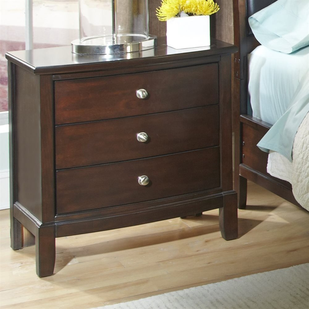 Best Denver Cherry Bedroom Set Dcg Stores With Pictures