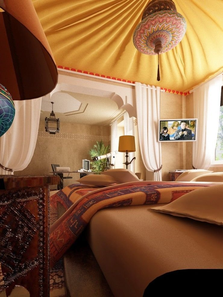 Best 40 Moroccan Themed Bedroom Decorating Ideas Decoholic With Pictures