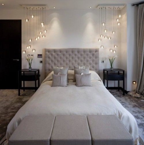 Best Beautiful Lighting For The Bedroom Contemporary Grey With Pictures