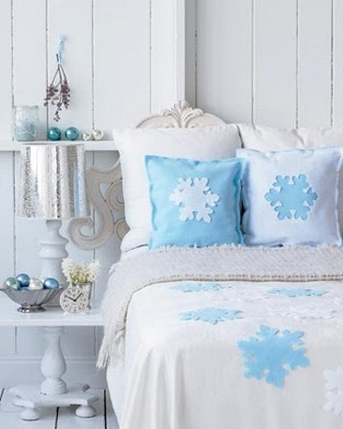 Best 33 Ways To Use Snowflakes For Winter Home Decorating With Pictures