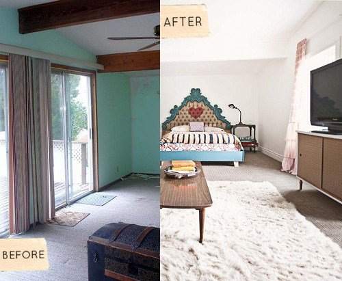 Best Before After Sarah's Kitchen Bedroom Renovation With Pictures