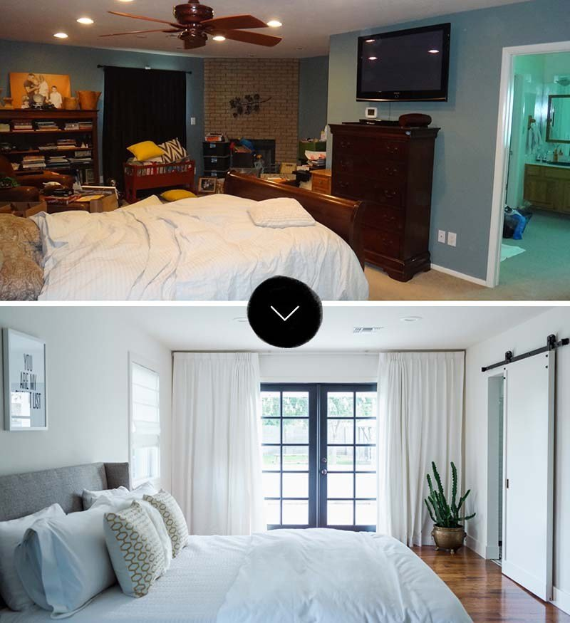 Best Before After A Master Bed Bath Makeover – Design Sponge With Pictures