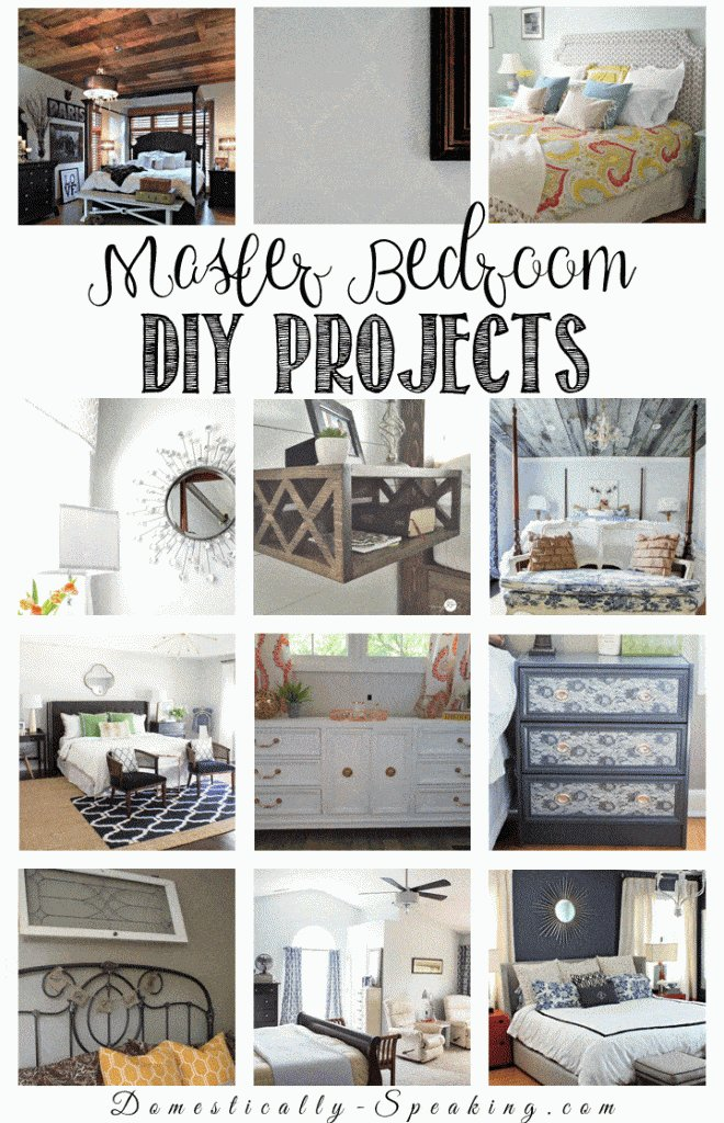 Best Diy Room Decor Ideas For The Master Bedroom Domestically With Pictures
