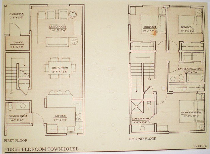 Best Floor Plans Townhouse The Heron Club With Pictures
