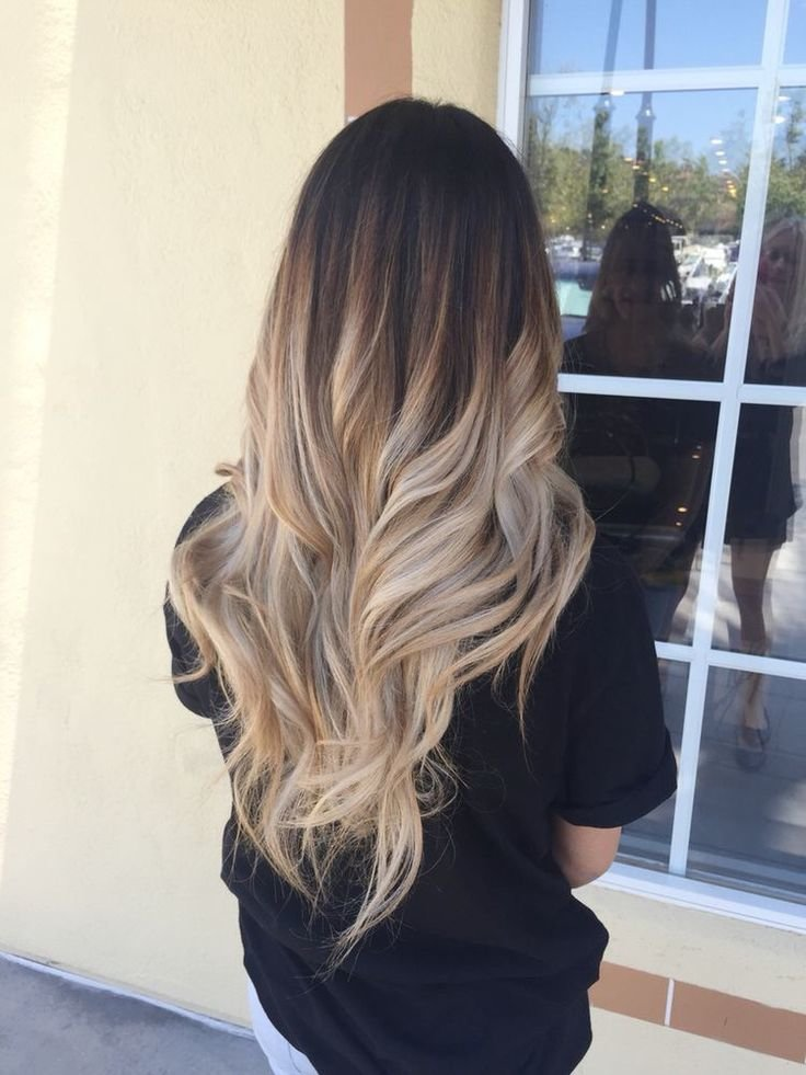 Free 60 Trendy Ombre Hairstyles 2018 Brunette Blue Red Wallpaper