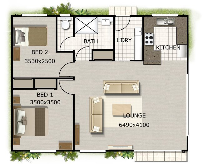 Best Australian House Floor Plans 2 Bedroom Home Design On With Pictures