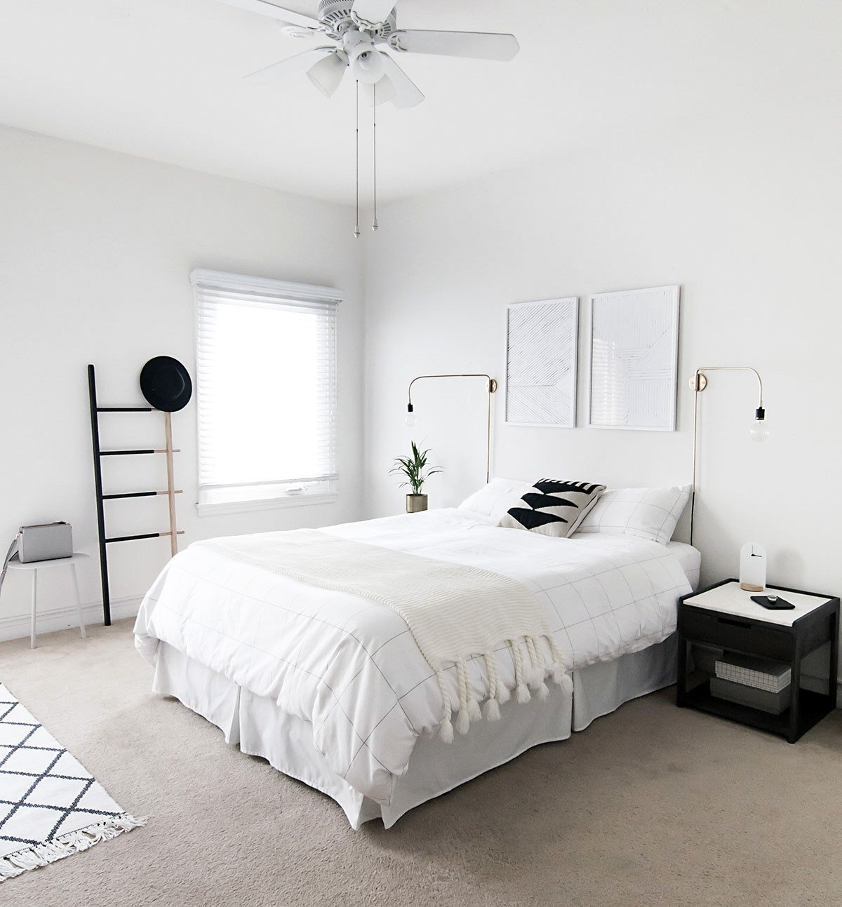 Best How To Achieve A Minimal Scandinavian Bedroom H*M*Y Oh My With Pictures
