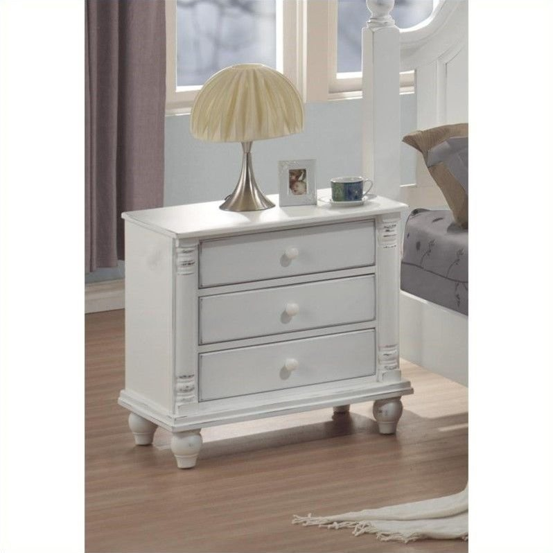 Best Distressed White Washed Nightstands Bedroom Redo Designs With Pictures