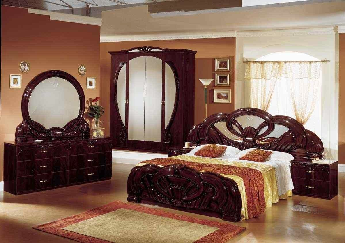 Best Deep Brown Classical Bedroom Furniture Set Stylish Home Decors Food Designs With Pictures