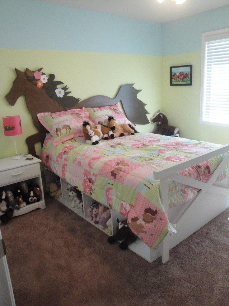 Best 6 Easy Horse Themed Bedroom Ideas For Horse Crazy Kids With Pictures