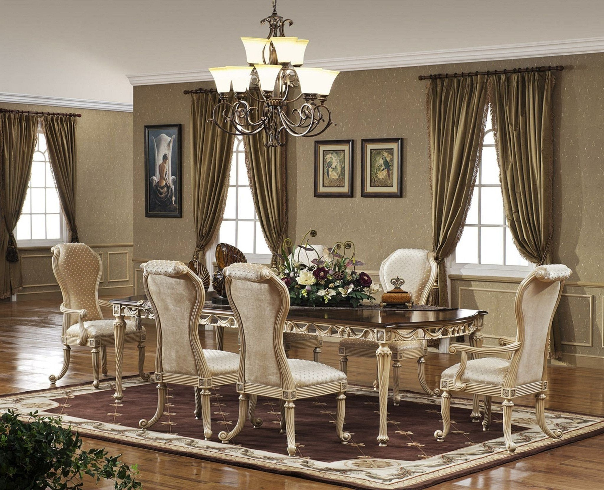Best Furniture Appealing Formal Dining Room Furniture For Your With Pictures