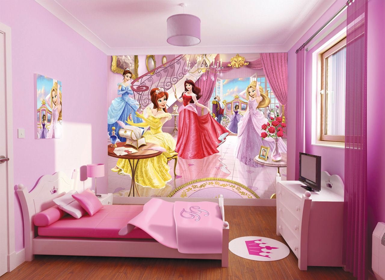 Best Beauty Disney Princess Wallpaper For Kids Room On With Pictures