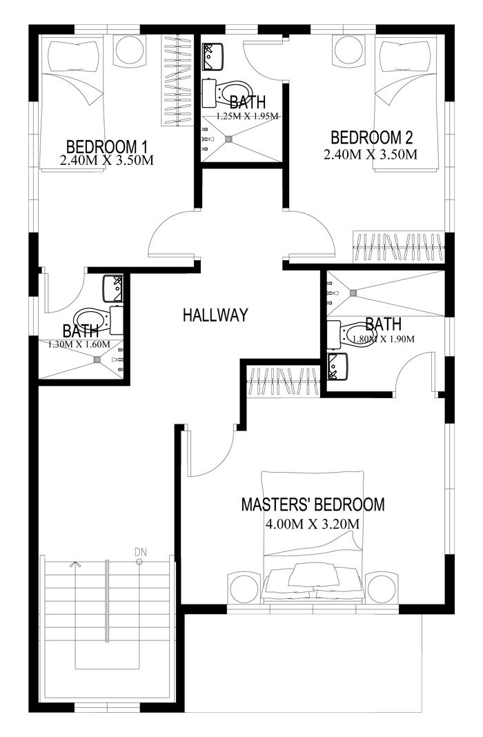Best Two Story House Plans Series Php 2014004 With Pictures