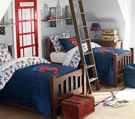 Best Spider Man™ Quilt Pottery Barn Kids With Pictures