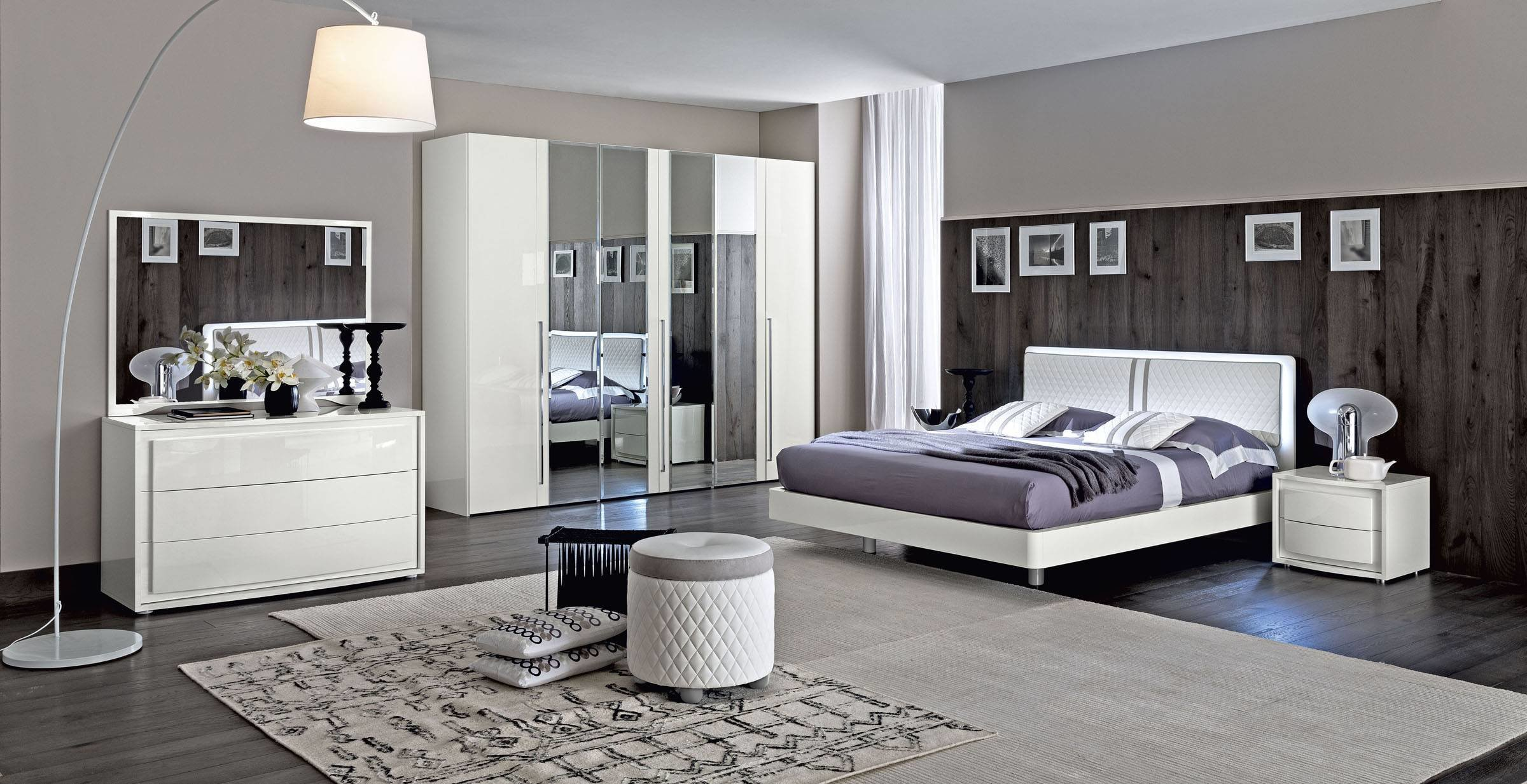 Best Made In Italy Wood Modern Contemporary Master Beds Tempe With Pictures