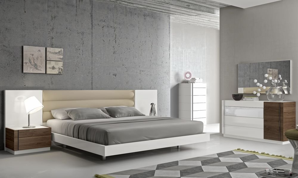 Best Fashionable Leather Modern Design Bed Set With Long Panels With Pictures