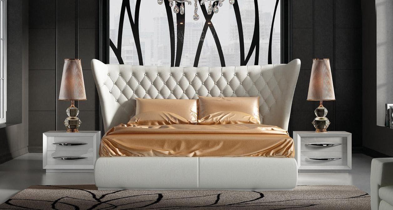 Best Stylish Leather Luxury Bedroom Furniture Sets Charlotte With Pictures