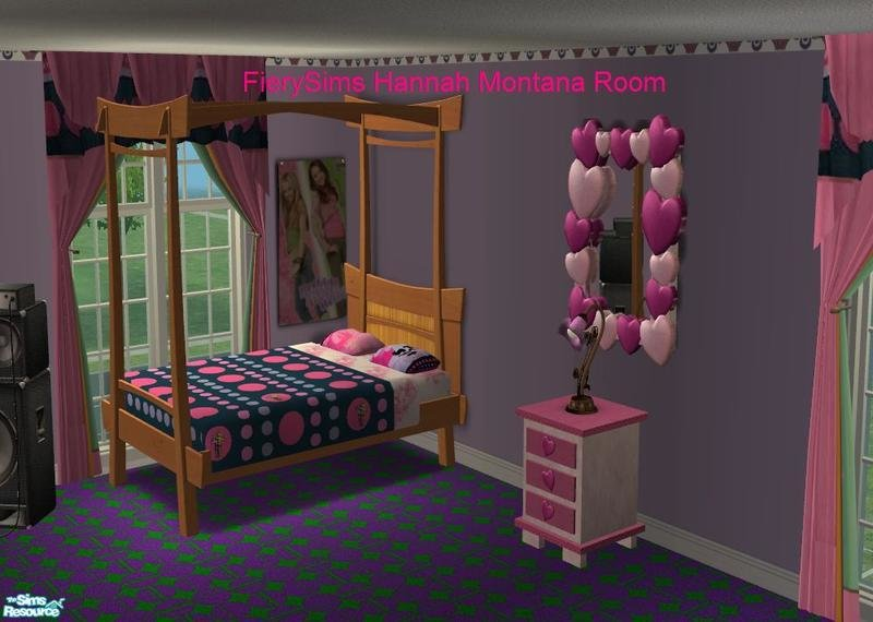 Best Vikachue S Hannah Montana Miley Cyrus Pink Bedroom With Pictures